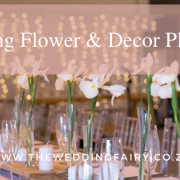 Wedding flower and decor planning